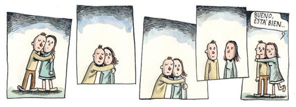 Liniers: ¿Abrazo? Ya está bien