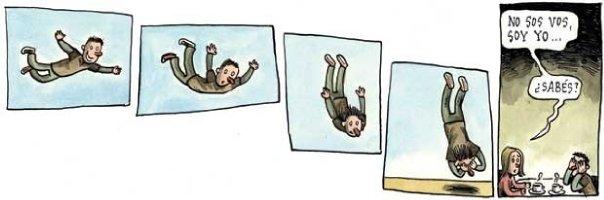 Liniers: No sos vos, soy yo... ¿Sabés?