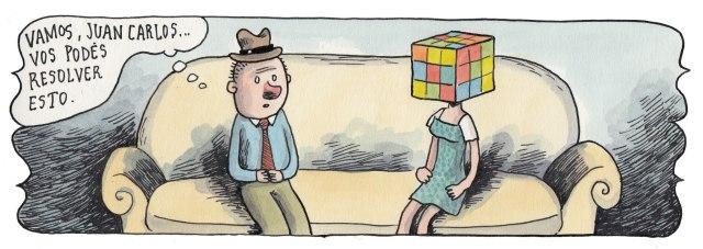 Liniers: Vamos Juan Carlos... vos podés resolver esto