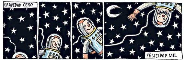 Liniers: Gravedad cero, felicidad mil