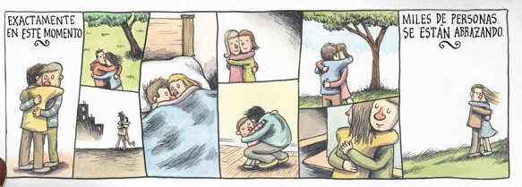 Liniers: Exactamente en este momento miles de personas se están abrazando