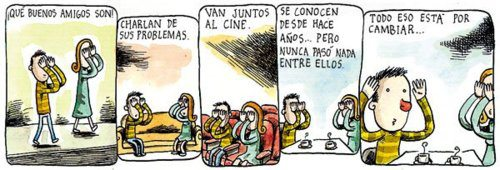 Liniers: ¡Qué buenos amigos son! Charlan de sus problemas. Van juntos al cine. Se conocen desde hace años... pero nunca pasó nada entre ellos. Todo eso está por cambiar...