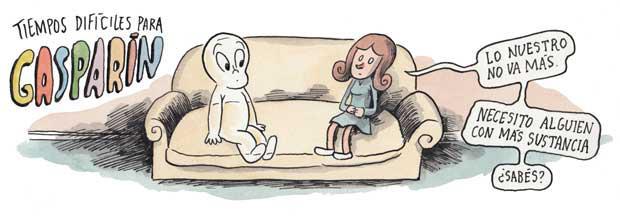 Liniers: Tiempos difíciles para Gasparín - Lo nuestro no va más. Necesito alguien con más sustancia ¿sabés?