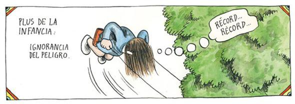 Liniers: Plus de la infancia: ignorancia del peligro