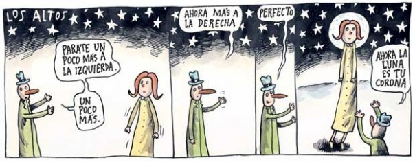 Liniers: Los altos - Ahora la luna es tu corona.