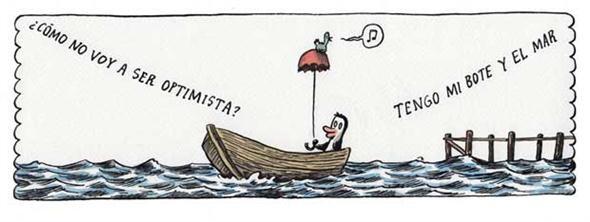 Liniers: ¿cómo no voy a ser optimista? Tengo mi bote y el mar