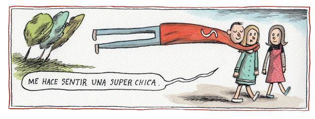 Liniers: Me hace sentir una superchica
