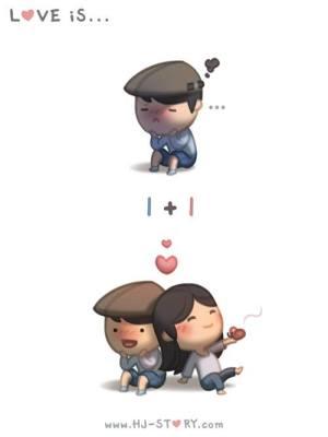 HJ-story.com - El amor es… 1+1