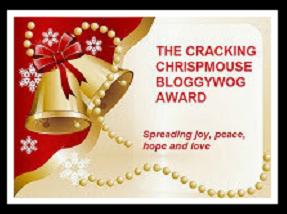 The Cracking Chrispmouse Bloggywog Award