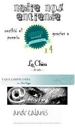 Nadie Nos Entiende recibió 4 nominaciones al Liebster Award