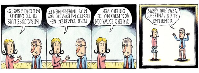 Liniers - Sabés qué pasa, Josefina, no te entiendo