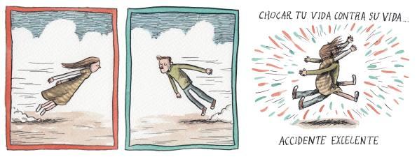 Liniers - Chocar tu vida contra su vida... accidente excelente