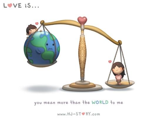 HJ-story.com - El amor es que tú importes más que el mundo para mí