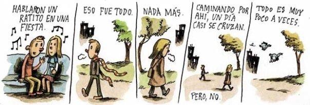 Liniers – Hablaron un ratito en una fiesta. Eso fue todo, nada más. Caminando por ahí, un día casi se cruzan. Pero, no. Todo es muy poco a veces.