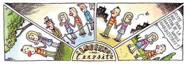 Liniers - ¿Viste que para estar de la mano somos ambidiestros?
