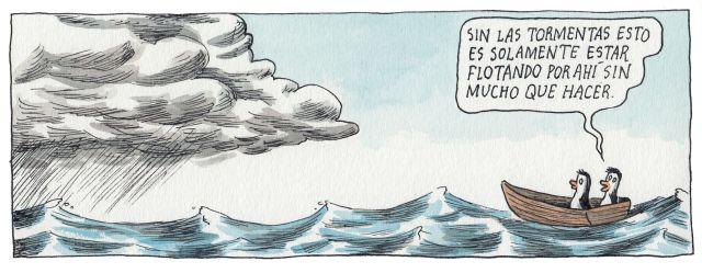 Liniers – Sin las tormentas esto es solamente estar flotando por ahí sin mucho que hacer.