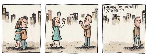 Liniers – Y ahora soy impar el resto del día