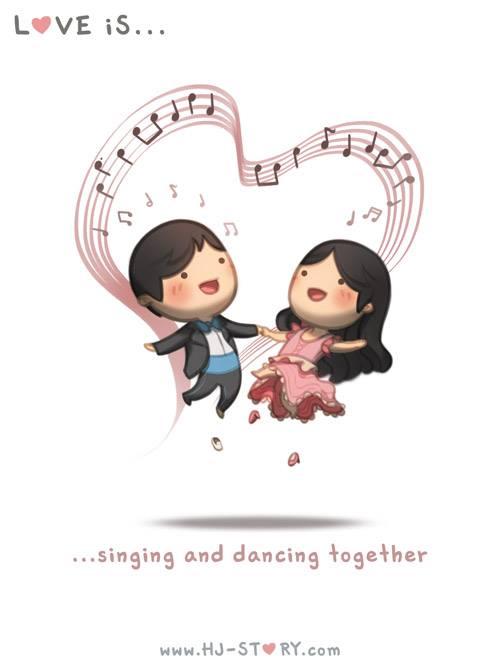 HJ-story.com - El amor es cantar y bailar juntos