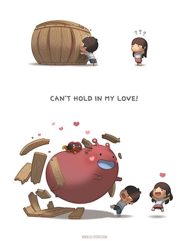 HJ-story.com – No puedo contener mi amor