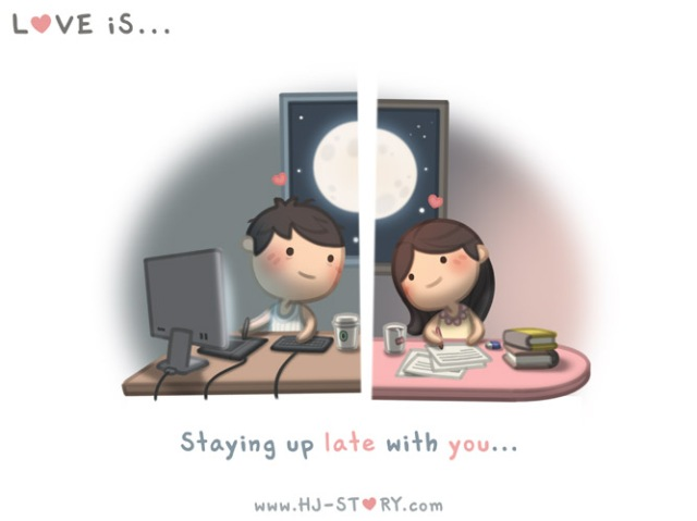 HJ-story.com - El amor es desvelarse contigo