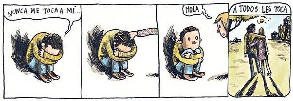 Liniers – Nunca me toca a mí… –Hola –A todos les toca