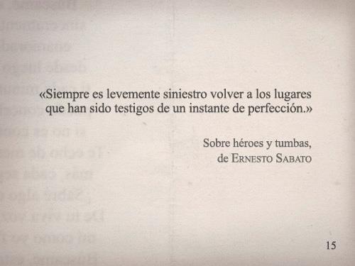 Ernesto Sabato – Sobre héroes y tumbas –