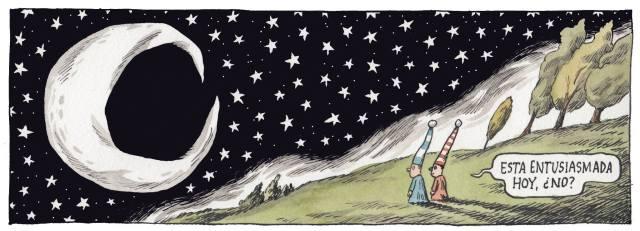 Liniers – Está entusiasmada hoy, ¿no?
