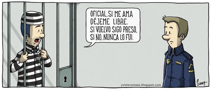 Yvistecomoes.blogspot.com – Oficial, si me ama déjeme libre. Si vuelvo sigo preso. Si no, nunca lo fui.