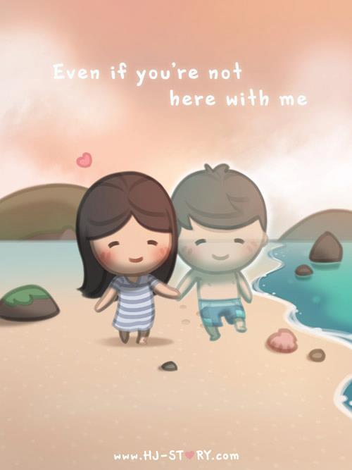 HJ-story.com – Incluso si no estás aquí conmigo