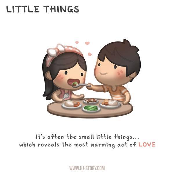 HJ-story.com – Pequeñas cosas – A menudo las cosas más pequeñas son las que revelan el más cálido acto de amor