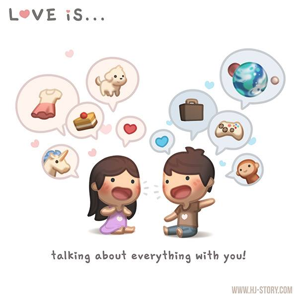 HJ-story.com – El amor es… hablar de todo contigo.