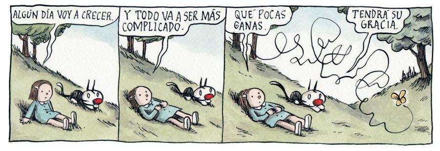 Liniers – Algún día voy a crecer y todo va a ser más complicado. Qué pocas ganas. – Tendrá su gracia.