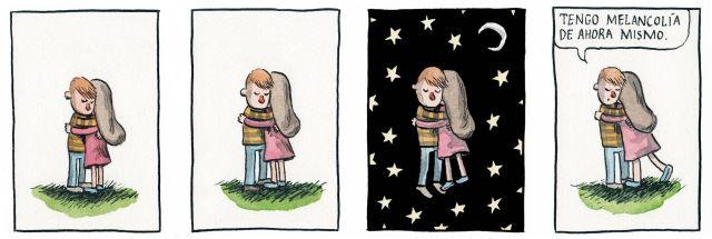 Liniers – Tengo melancolía de ahora mismo.