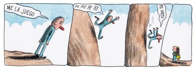 Liniers – Me la juego. Ay ay ay ay. Me mato.