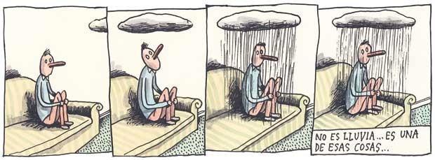 Liniers – No es lluvia… es una de esas cosas…