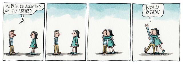Liniers – Mi país es adentro de tu abrazo. ¡Que viva la Patria!
