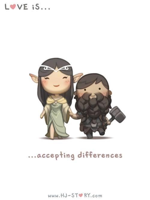 HJ-story.com – El amor es aceptar diferencias