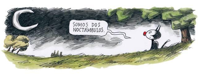 Liniers – Somos dos noctámbulos.