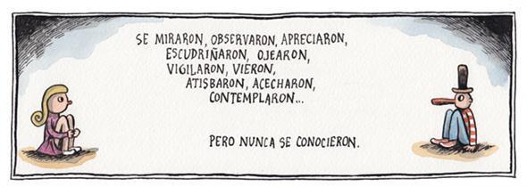 Liniers – Se miraron, observaron, apreciaron, escudriñaron, ojearon, vigilaron, vieron, atisbaron, acecharon, contemplaron… pero nunca se conocieron.