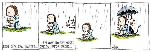 Liniers – Esos días tan tristes… en que no hay mucho que se pueda decir…