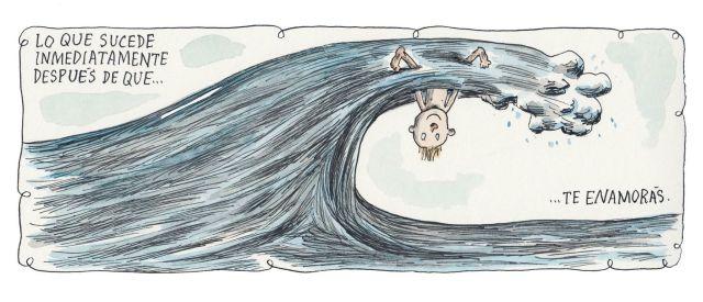 Liniers – Lo que sucede inmediatamente después de que… te enamorás.