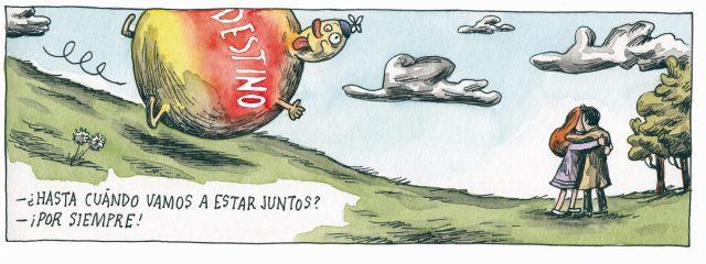 Liniers – ¿Hasta cuándo vamos a estar juntos? – ¡Por siempre!