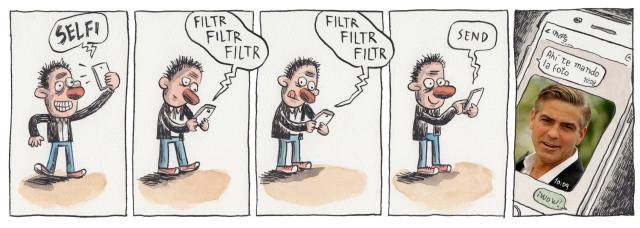 Liniers – Selfi… Filtr Filtr Filtr (…) Send
