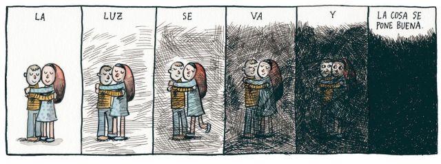 Liniers – La luz se va y la cosa se pone buena.
