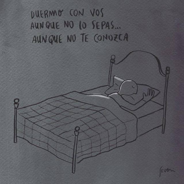 Severi – Duermo con vos aunque no lo sepas... aunque no te conozca
