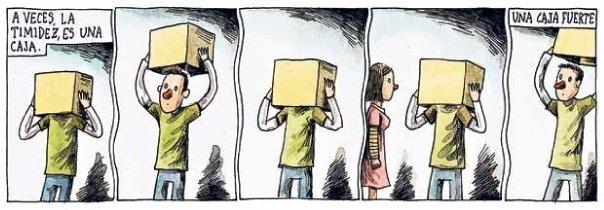 Liniers – A veces, la timidez, es una caja. Una caja fuerte.