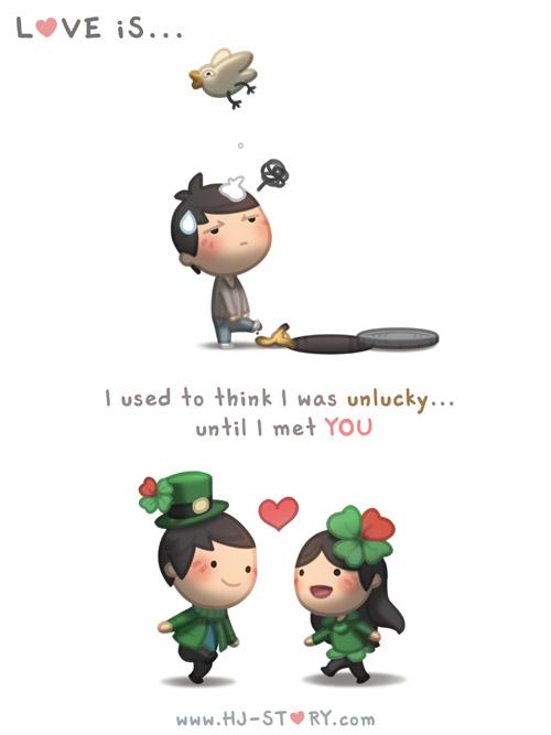 HJ-story.com - El amor es... Solía pensar que no tenía suerte... hasta que te conocí