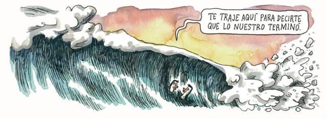 Liniers - Te traje aquí para decirte que lo nuestro terminó