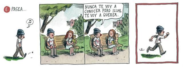 Liniers - Nunca te voy a conocer pero igual te voy a querer.